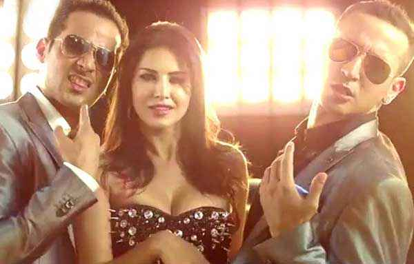 Hate Story 2 Sunny Leone Boobs In Pink Lips Stills