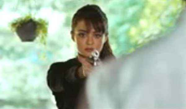 Hate Story 2 Surveen Chawla With Gun Stills