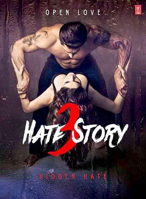 Hate Story 3 Karan Singh Grover Zarine Khan Hot Poster