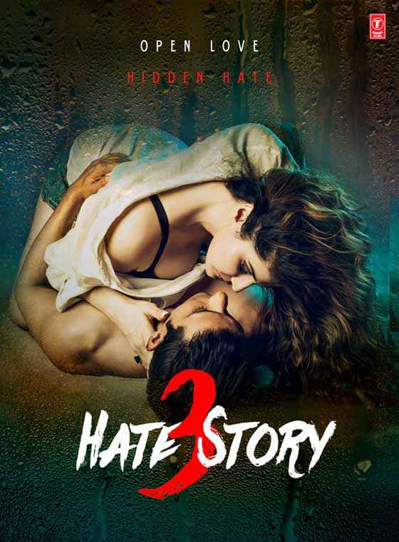 Hate Story 3 Sharman Joshi Zarine Khan Hot Poster