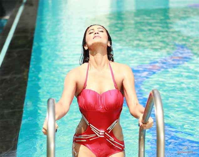 Hate Story 3 Daisy Shah In Red Bikini Stills