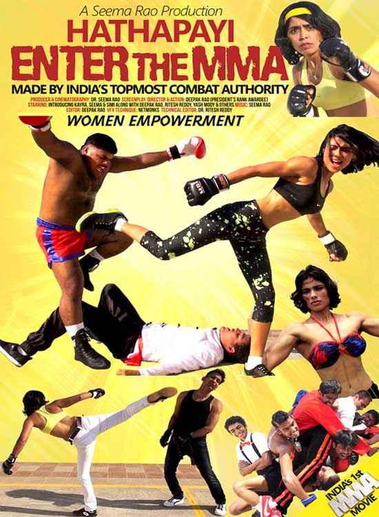 Hathapayi Enter The MMA Wallpaper Poster