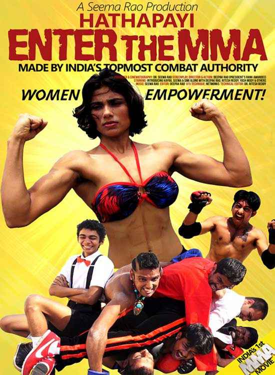 Hathapayi Enter The MMA Poster