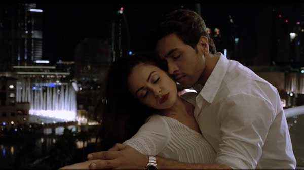 Heartless Adhyayan Suman Ariana Ayam Romantic Scene Stills