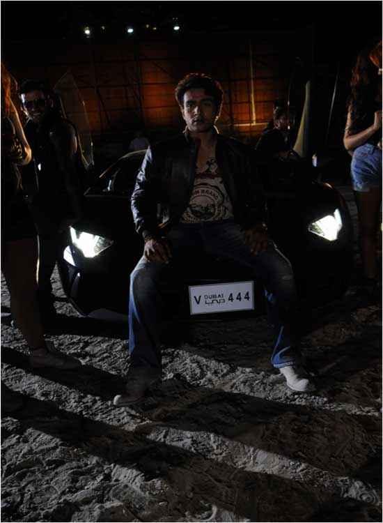 Heartless Adhyayan Suman With Black Car Stills