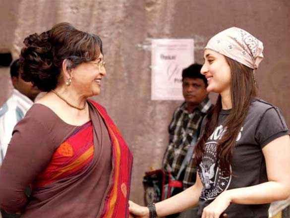 Heroine Kareena Kapoor and Helen Stills