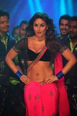 Heroine Kareena Kapoor in Halkat Jawani Item Song Stills