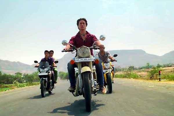 Heropanti Tiger Shroff On Bike Scene Stills