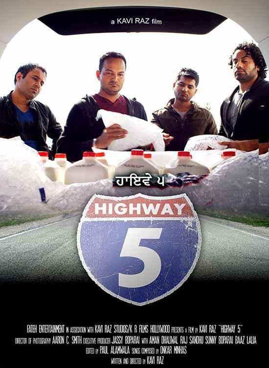 Highway 5 (Punjabi) Poster