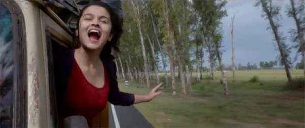 Highway Alia Bhatt Laughing Stills