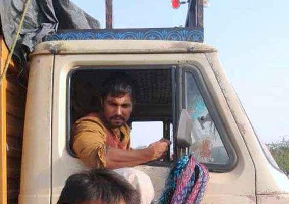 Highway Randeep Hooda In Truck Stills