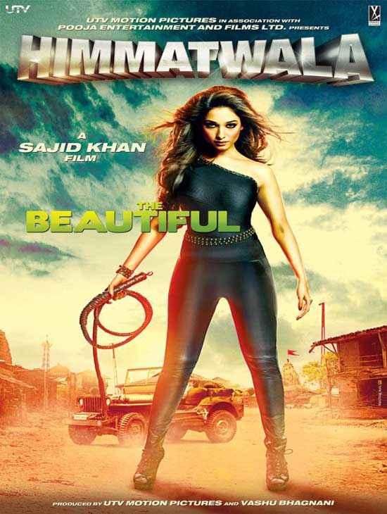 Himmatwala 2013 Tamannaah Poster