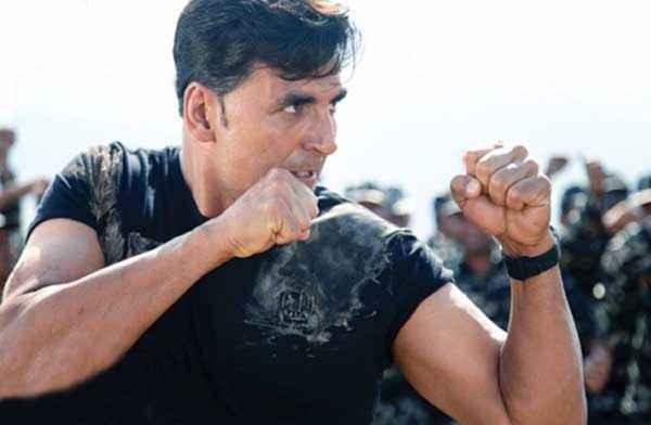 Holiday A Soldier Is Never Off Duty Akshay Kumar Fighting Stills
