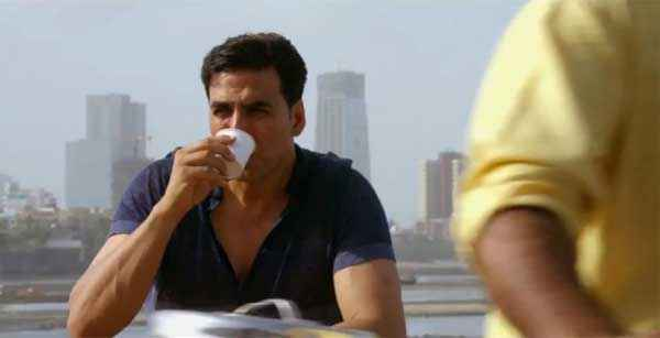 Holiday A Soldier Is Never Off Duty Akshay Kumar Taking Tea Stills