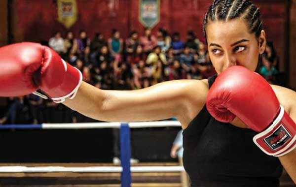 Holiday A Soldier Is Never Off Duty Sonakshi Sinha Playing Boxing Game Stills