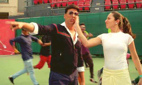 Holiday A Soldier Is Never Off Duty Sonakshi Sinha Slap Akshay Kumar  Stills