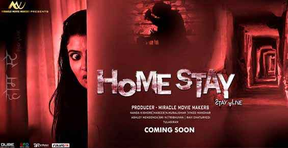 Home Stay - Stay Alive Horror Poster