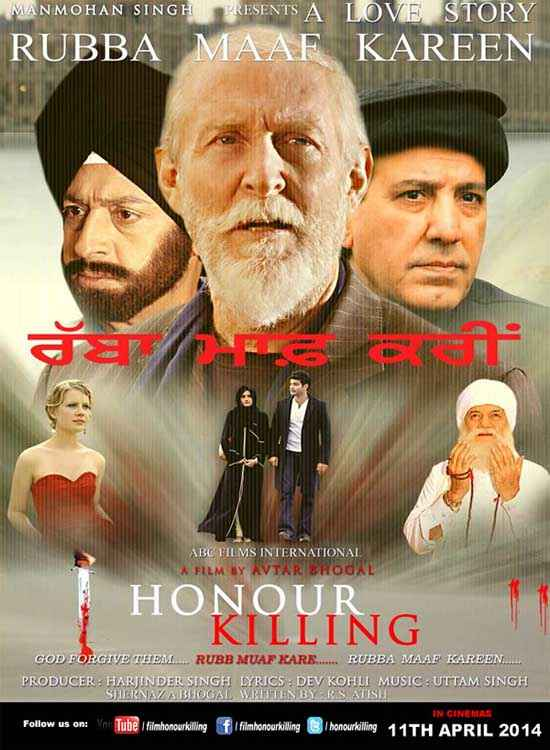 Honour Killing Wallpaper Poster