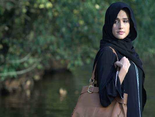 Honour Killing Zara Sheikh Ib Black Dress Stills