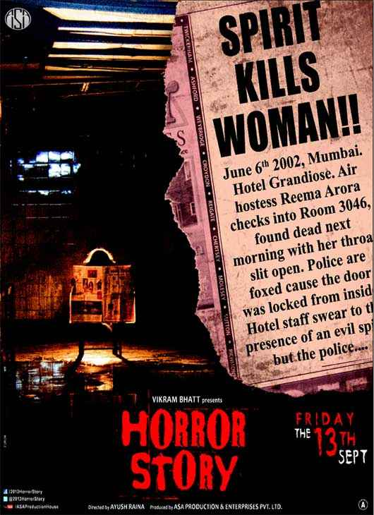 Horror Story Wallpaper Poster