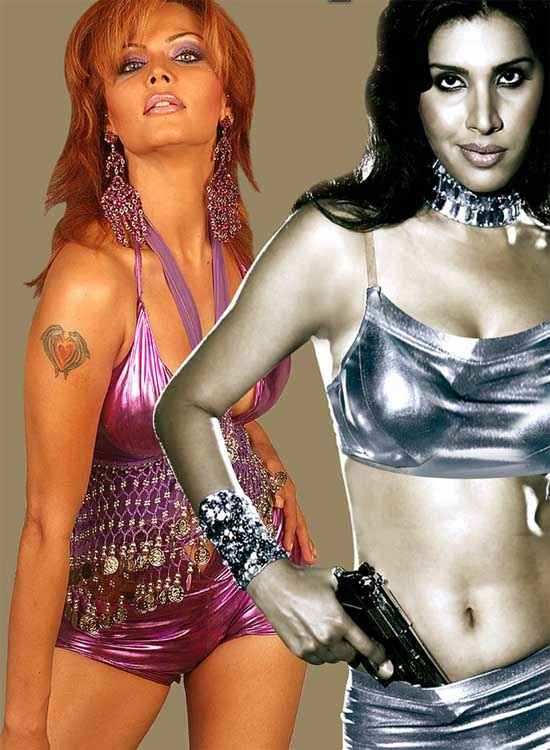 Hot Money Rakhi Sawant Nilanjana Bhattacharya Hot Picture Stills