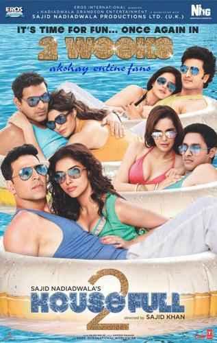 Housefull 2 Hot Scene Poster