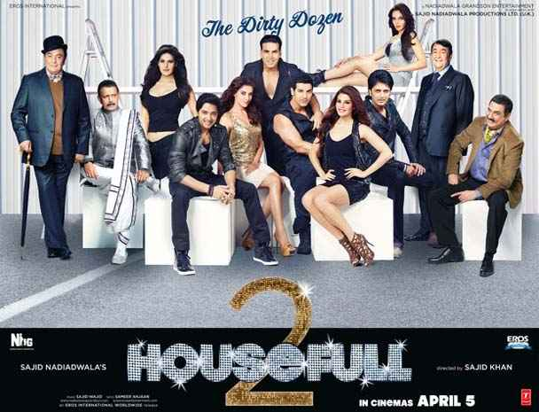 Housefull 2 Wallpapers Poster