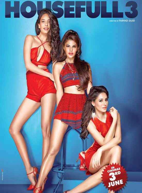 Housefull 3 Actress Girls Poster