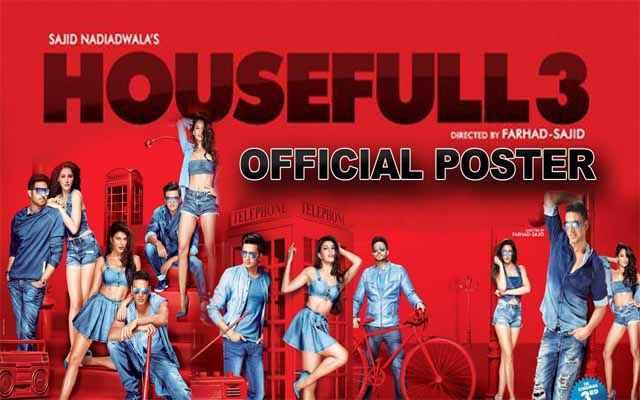 Housefull 3 Image Poster