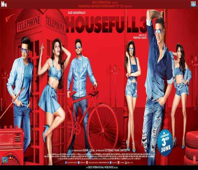 Housefull 3 Wallpaper Poster