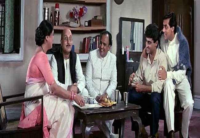 Hum Aapke Hain Kaun Anupam Kher Alok Nath Salman Khan Stills