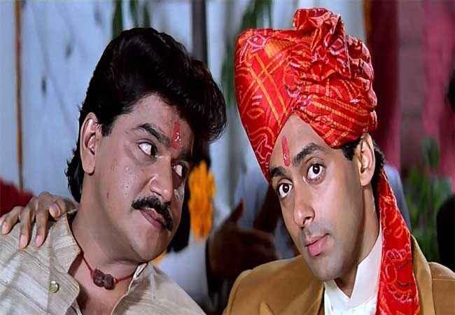 Hum Aapke Hain Kaun Laxmikant Berde Salman Khan Stills