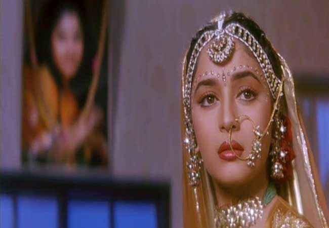 Hum Aapke Hain Kaun Madhuri Dixit in Dulhan Stills