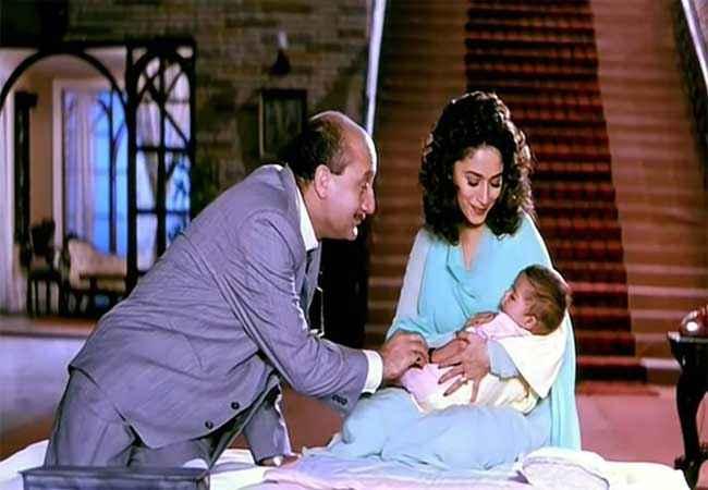 Hum Aapke Hain Kaun Madhuri Dixit with Child Stills