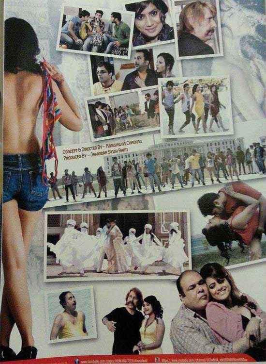 Hum Hain Teen Khurafaati Sexy Poster