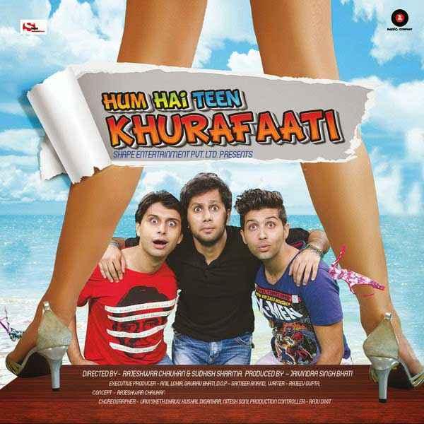 Hum Hain Teen Khurafaati Poster