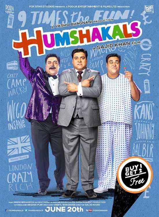 Humshakals Ram Kapoor Poster