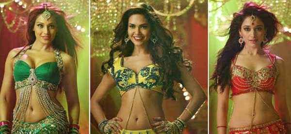 Humshakals Bipasha Basu Esha Gupta Tamannaah Bhatia Hot Item Song Stills