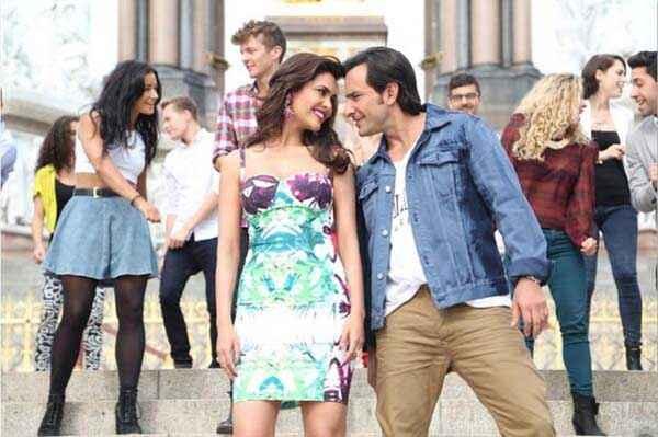 Humshakals Esha Gupta Saif Ali Khan Romance Stills