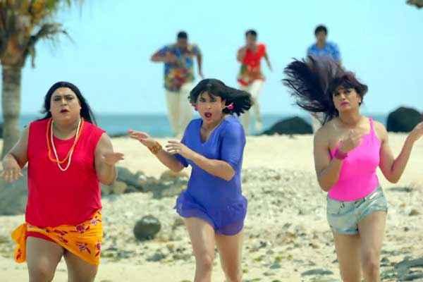 Humshakals Ram Kapoor Saif Ali Khan Riteish Deshmukh In Double Role Stills