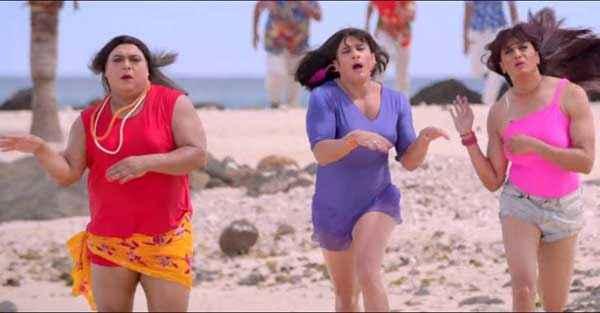 Humshakals Ram Kapoor Saif Ali Khan Riteish Deshmukh In Girl Dress Stills