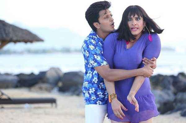 Humshakals Riteish Deshmukh Romance With Saif Ali Khan Stills