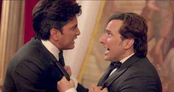 Humshakals Riteish Deshmukh Saif Ali Khan Acting Stills