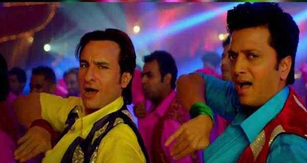 Humshakals Saif Ali Khan Riteish Deshmukh Dance Step Stills