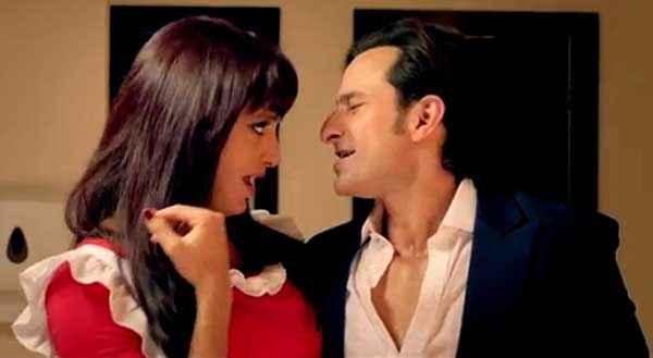 Humshakals Saif Ali Khan Riteish Deshmukh Romance Stills