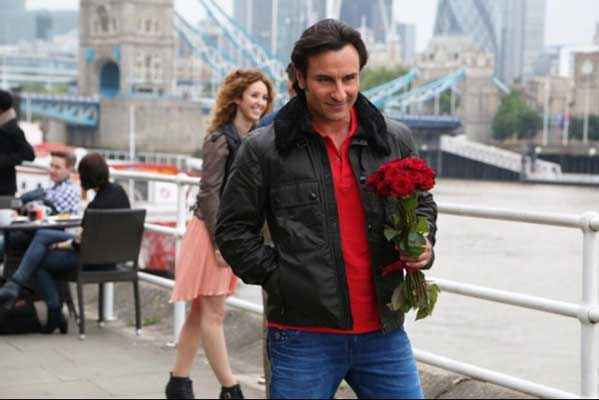 Humshakals Saif Ali Khan With Red Rose Stills