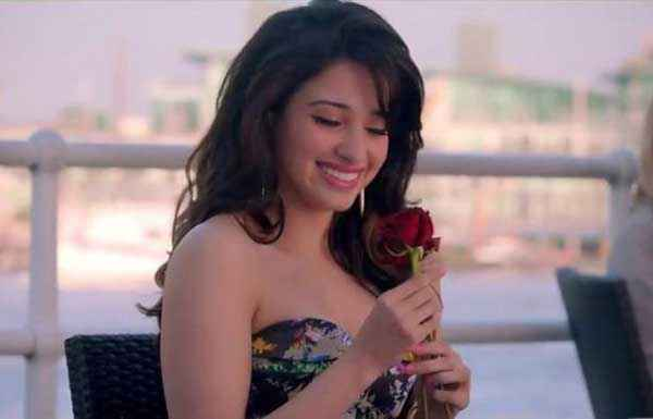 Humshakals Tamannaah Bhatia With Rose Stills