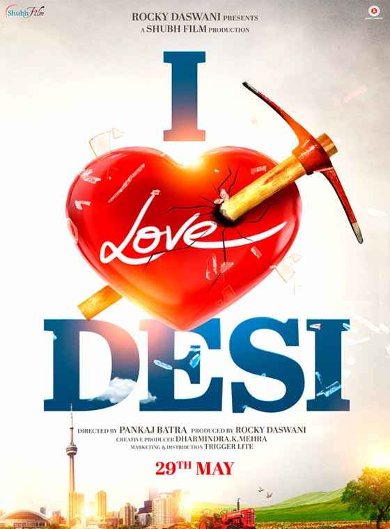 I Love Desi First Look Poster