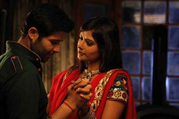 I Love Desi Vedant Bali Priyanka Shah Romantic Scene Stills