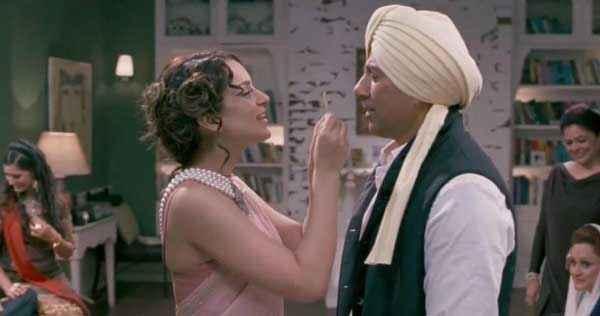 I Love NY Kangna Ranaut Sunny Deol in Masti Mood Stills